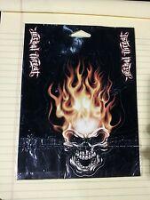 LETHAL THREAT DESIGN HEAD ON FLAME SKULL SET VALUE PACK 5 DECALS LT44070 (X8591)