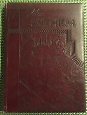1945 Brentwood Pittsburgh Pennsylvania PA High School Yearbook Lot Of Year Book