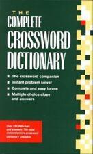 New The Complete Australian Crossword Dictionary By Ursula Harringman