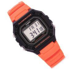 Casio Men's BRAND NEW Classic Watch W-218H-4B2VCF Orange Original Box