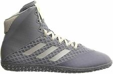 adidas Men's Mat Wizard 4 Wrestling Shoe 9, Glory Grey/White/Gold