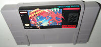 ICONIC Nintendo SNES Game SUPER METROID Cleaned&Tested Super Fun Action SAVES