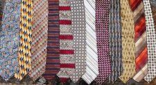Joseph Abboud, Express etc. LOT 12 Silk Men Patterned Neckties (LOT 2468)
