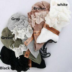 Women Ladies Retro Hollow Lace Ruffle Frilly Ankle Sock Cotton Socks Stylish UK