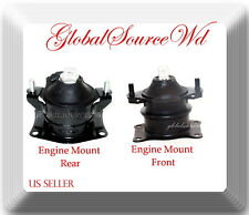 Set 2 A4526/A4599 ENGINE MOUNT FRONT REAR FITS: ACURA RL 2005-2008 TL 2004-2008