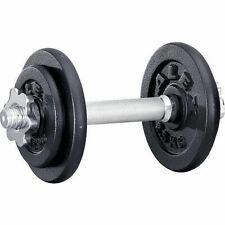 Kurzhantel Set 10 kg mit 4 Scheiben Gusseisen - Home Gym Fitness Hantel Sport