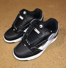 Osiris Peril Men's Size 5 Black Grey White BMX DC Skate Shoes Sneakers Deadstock