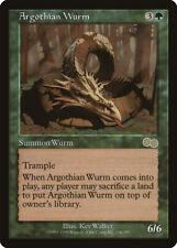 Argothian Wurm Urza's Saga NM Green Rare MAGIC THE GATHERING MTG CARD ABUGames