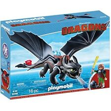 PLAYMOBIL 9246 Dragons Hiccup Toothless With LED Light Effects