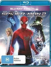 The Amazing Spider-Man 2 - Rise of Electro (Blu-ray, 2014) NEW