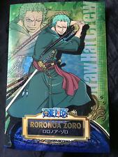 One Piece Metallic Sheet Big Card Roronoa Zoro