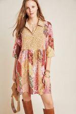 $220 Anthropologie Benedetta Silk Tunic dress NWT new size 10