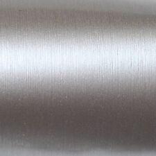 ( 32,88€/m ²) 50cm x152cm Oracal 975br BRUSHED 090 PLATA Aluminio Cepillado