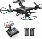 Holy Stone HS110D FPV RC Drone with 1080P HD Camera Live Video Black