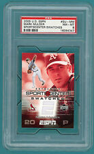 2005 UD ESPN Swatches, Mark Mulder Game Used Jersey #CM-OC Mint 9! Giants POP 1!