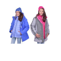 NEW!! Gerry Girl's 3-In-1 System Jacket with Beanie Variety