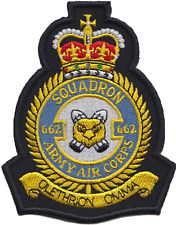 No. 662 Squadron British Army Air Corps AAC Crest Mod Embroidered Patch
