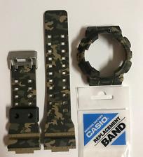CASIO G-Shock Original Band GA-100CM-5A GD-120CM-5 Camouflage  & BEZEL GA100CM