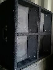 pair of dual 10 twin cone horn loaded PA speakers