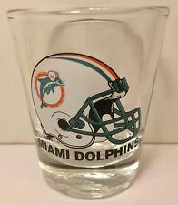 Miami Dolphins NFL Team Helmet Logo Shot Glass