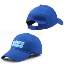Men Parks Monsters University MU Print Blue Baseball adjustable Hat Cap US