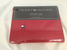 Tommy 2000 Tommy Hilfiger Twins Flat Sheet 100% Ring Spun Combed Cotton
