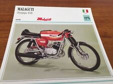 Fiche moto collection atlas motorcycle Malaguti Olympique 40 RS 1976