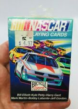 Nascar Bicycle Playing Cards Elliott, Petty, Gant, Labonte, Gordon New Sealed *D