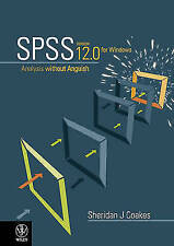 SPSS: v. 12: Analysis without Anguish Using SPSS, Coakes, Sheridan J., Used; Goo