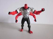 "BEN 10 TEN DNA ALIEN HEROES FOUR ARMS 6"" Bandai 2006 RARE Original Item"