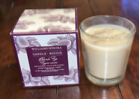 Williams Sonoma Black Fig 9 Ounce Candle Bougie Essential Oils 50 Hours NEW NIB