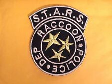 RESIDENT EVIL S.T.A.R.S RACCOON POLICE PATCH IRON OR SEW ON