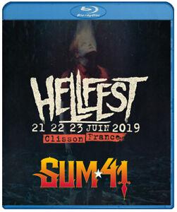 Sum 41 live at Hellfest 2019 (Blu Ray) Blink 182 Simple Plan Good Charlotte