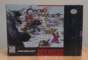 Chrono Trigger (SNES) Near CIB with Poster, Manual, Game, Registration, & Box!