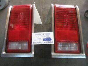 1981-1982 Oldsmobile Omega Sedan LH + RH Tail Light Lamp + chrome trim +Base OEM