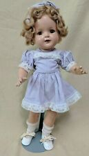 "Vintage 1930s - 1940s Arranbee Nancy Composition Doll 17"" w/ Stand"