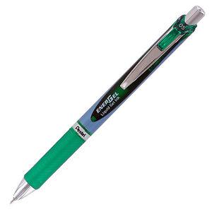 Pentel EnerGel Deluxe RTX Retractable Liquid Gel Pen, Fine Point, Green, 0.5mm