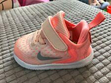 Nike FREE RN 2018 (TDV) Babies TODDLER Girls Trainers AH3456-800 Infant UK 3.5