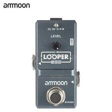 ammoon Looper Nano Loop Electric Guitar Effect Pedal 10min Recording Z4G9