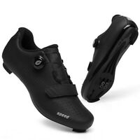Men Road Bike Cycling Shoes Indoor Peloton Bike Spin Shoes SPD Bicycle Sneakers