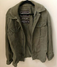 Mens Abercrombie & Fitch Sentinel Jacket Military Style Med ZipUp Jacket M65