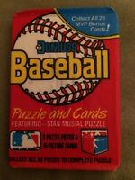 1988 Donruss Baseball Card Wax Pack Andre Dawson Diamond Kings Showing On Back