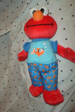 "Talking Elmo Fish Sesame Street 13"" Plush Soft Toy Stuffed Animal"