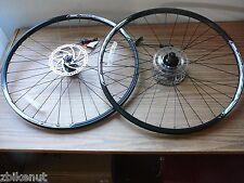 """29"""" Mountain Bike Wheelset Front & Rear XM280 8/9/10 Speed Disc w/Rotors 180/160"""