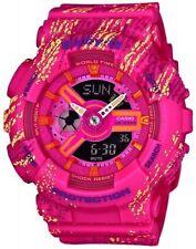 Casio G-Shock Scratch Pattern Ladies Watch BA-110TX-4