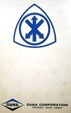 VICTOR Sealing Products Catalog ASBESTOS Dana Corp 1970