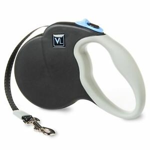 VIBRANT LIFE™ Reflective Retractable Strong Tape Leash Toy Dog Small Up to 26lbs