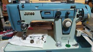 Vintage Jones Electric Sewing Machine, GWO, Good Condition