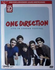 ONE DIRECTION LIVE IN LONDON FESTIVAL DVD - 2016 BRAZIL NEW SEALED MEGA RARE