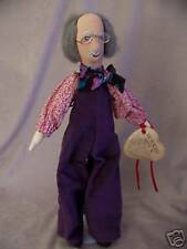 "Victoria'S Button Leonard #35 Cloth Doll 19"" Hand Crafted Excellent With Tag"
